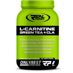 L-carnitine green tea + CLA 90 caps