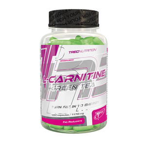 L-carnitine + green tea 180 caps