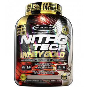 Nitro Tech 100% Whey Gold 2,72kg
