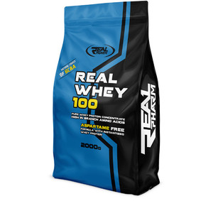 Real Whey 100% 2000g Bag