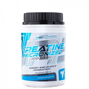 Creatine Micronized 200 Mesh 60 caps